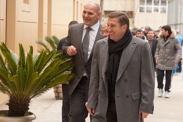 Александр Карелин (слева) и Рубен Татулян