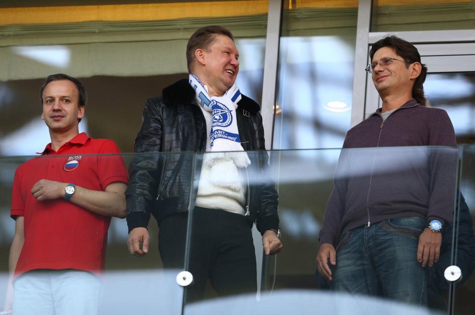 Фото: Алексей Миллер и Леонид Федун (Фото: ТАСС)