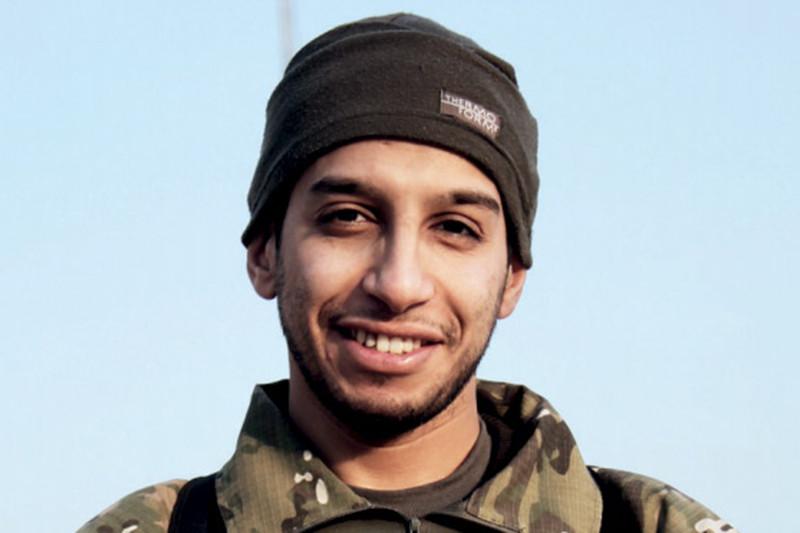 Предполагаемый организатор терактов в ПарижеАбдельхамид Абауд