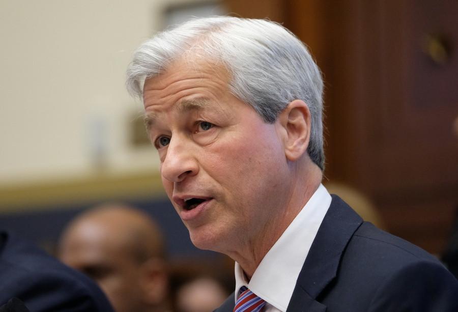 Генеральный директор JP Morgan Chase Джейми Даймон