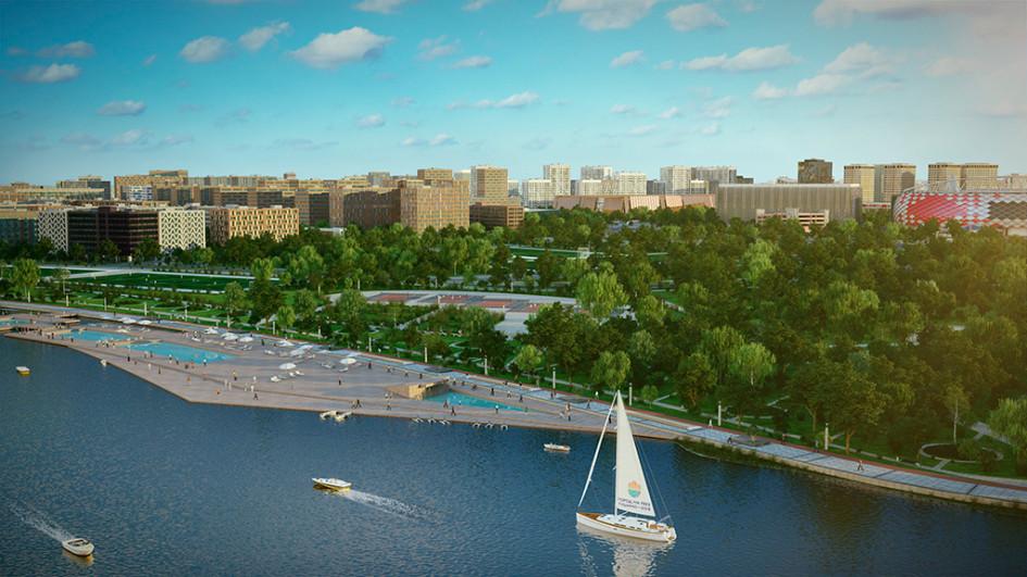 Перспективный вид на«Город нареке Тушино —2018»