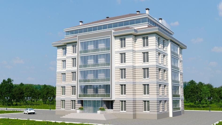 Проект дома по проекту «Панельный монолит»