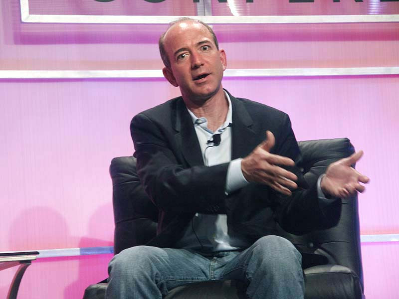 Основатель и глава Amazon Джефф Безос