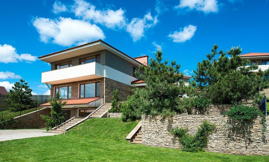 Один из проектов домов в поселке «Маєток»