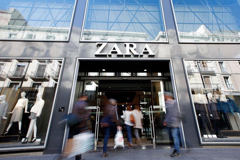 Магазин Zara в Барселоне, Испания