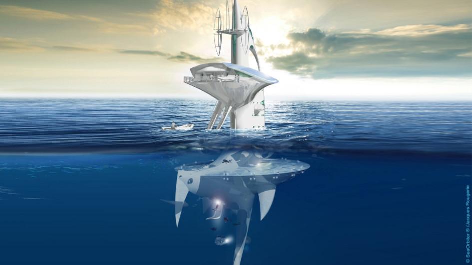 Почти две трети судна будет находиться под водой.