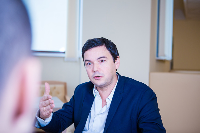 Французский экономист Тома Пикетти