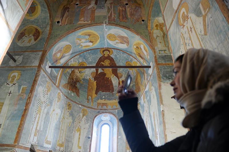 Реставрация фресок Дионисия в Ферапонтовом монастыре, одном из главных памятников древнерусского искусства, обошлась в 480 тыс. руб.