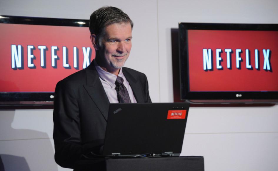 Генеральный директор Netflix РидХастингс