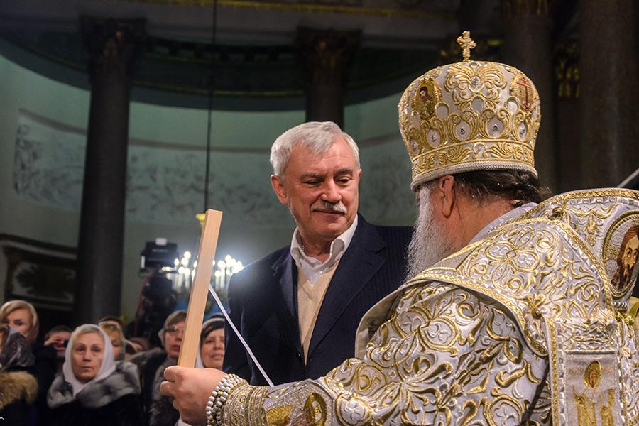 Георгий Полтавченкои епископ Ладожский Варсонофий