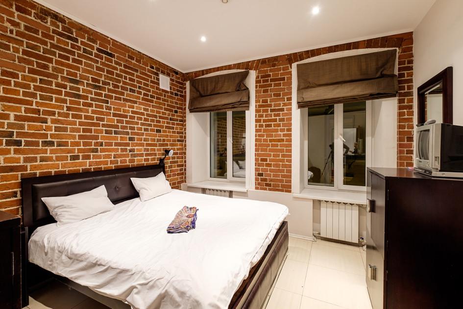 Один из номеров в комплексе меблированных комнат «Петровка лофт» в Москве