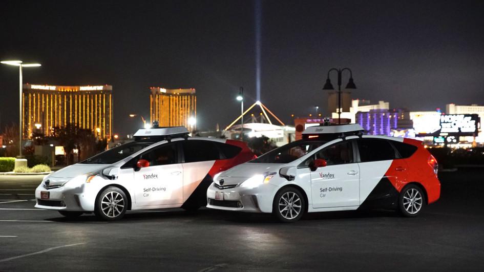 Беспилотники «Яндекса» на выставке CES 2020 в Лас-Вегасе