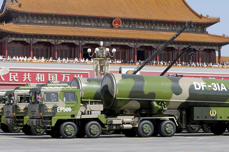Ракеты дальнего радиуса действия DF31А