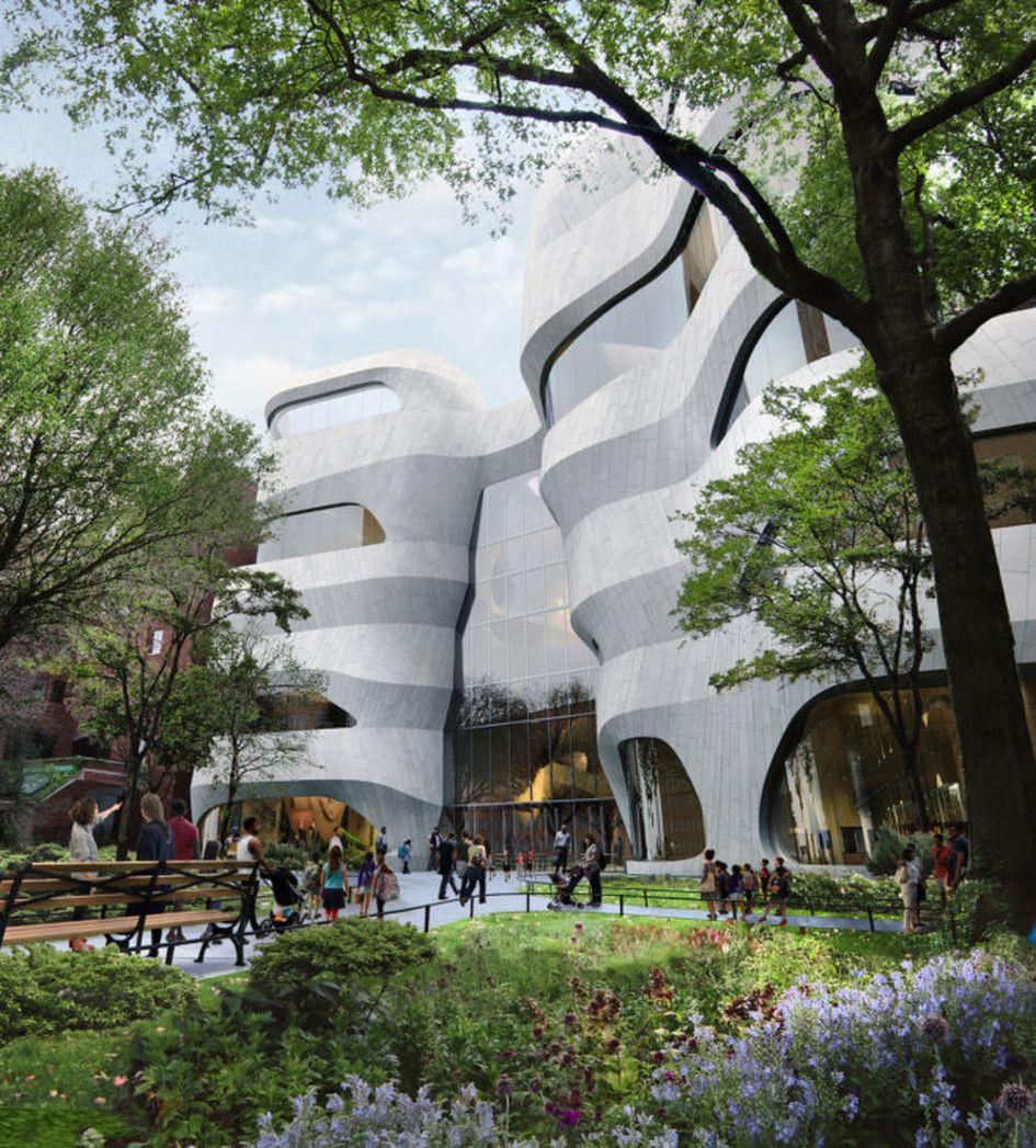 Центр науки в Нью-Йорке