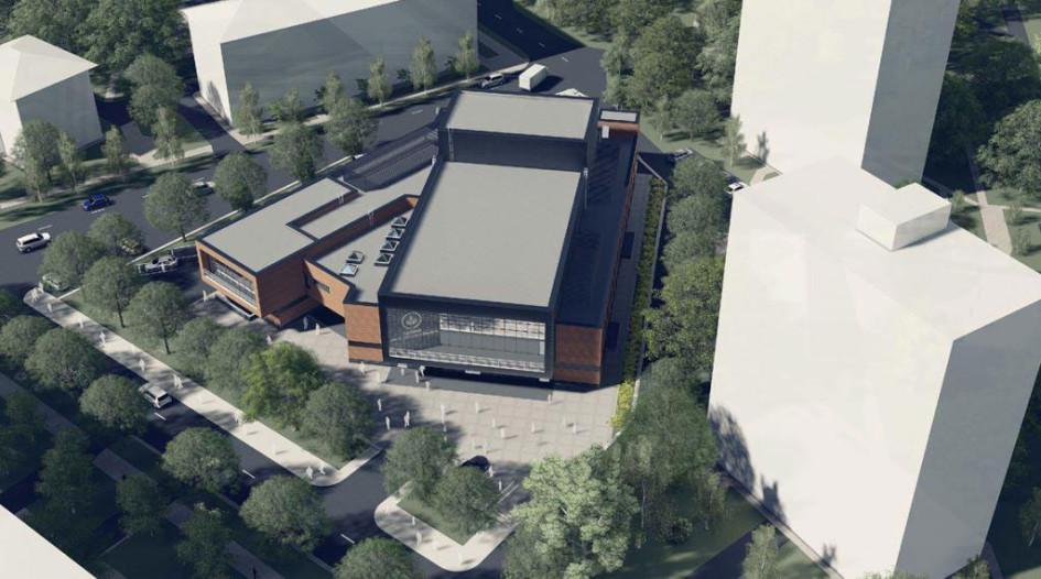 Здание многофункционального культурного центра будет разделено назрительскую иклубную части