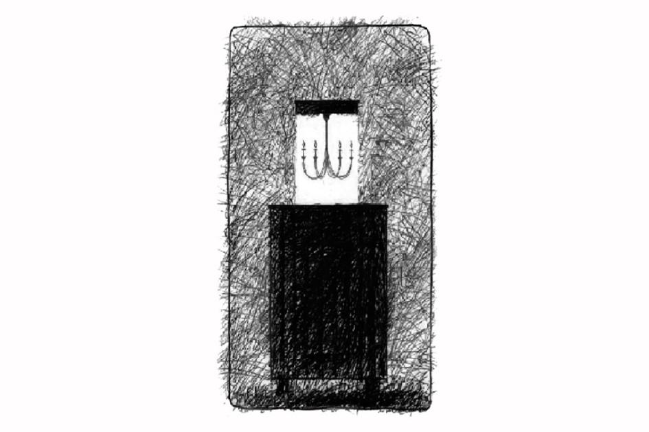 Эскиз «Дома с люстрой»