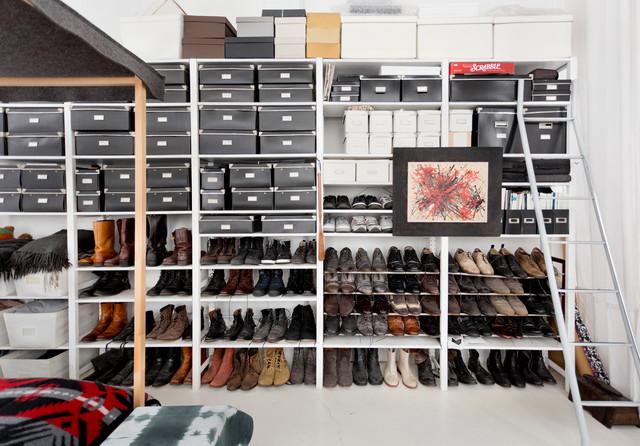 Обувная гардеробная