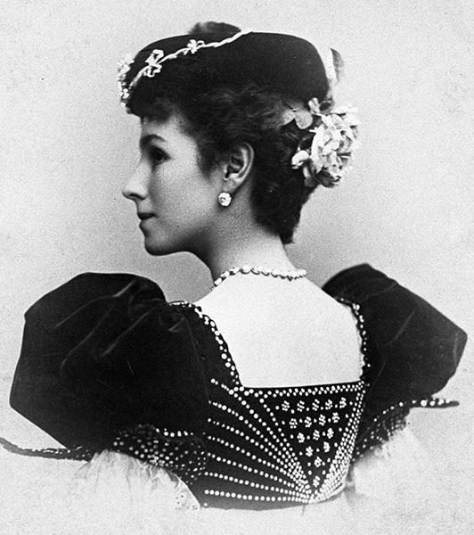 Солистка балета Мариинского театра Матильда Кшесинская. 1898 год