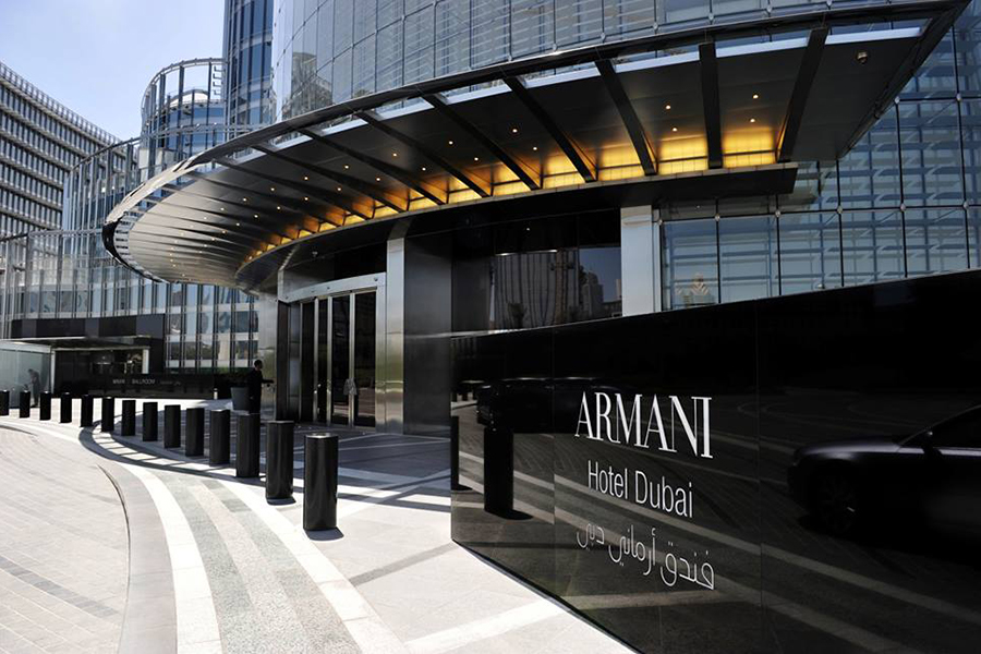 Отель Armani Дубай