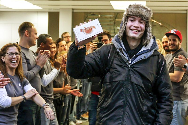 Старт официальных продаж iPhone вМюнхене