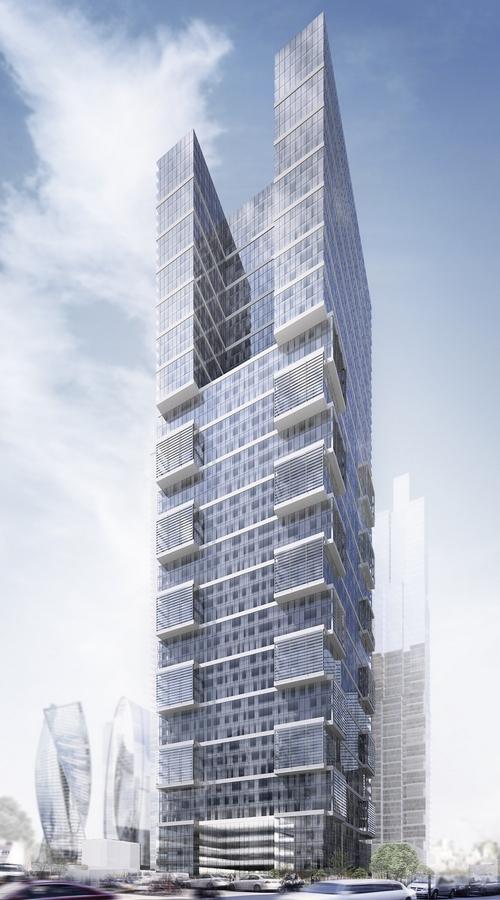 Новое здание построят на краю делового центра «Москва-Сити»