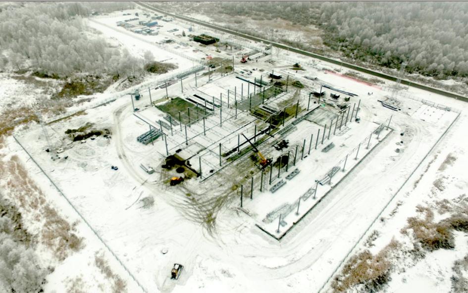 Так выглядит стройка завода в Тюмени
