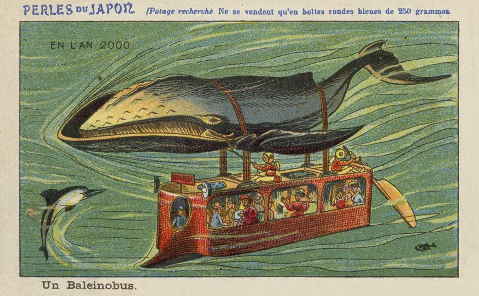 2000 год. Китобус, или подводный автобус мощностью в одну китовую силу. «Европейская школа», 19 век.