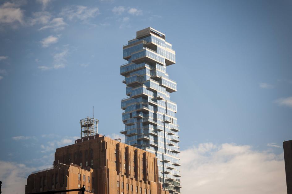 Башня 56 Leonard Street от Herzog & de Meuron в Нью-Йорке