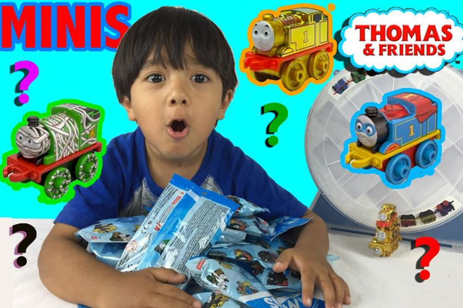 Фото: видео Ryan ToysReview / Youtube