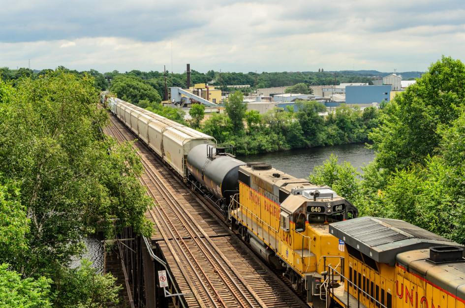 Железнодорожный состав Union Pacific