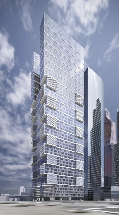 Предварительная концепция небоскреба на 20-м участке