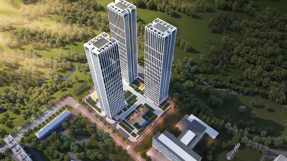 Высота небоскребов составит 52 этажа