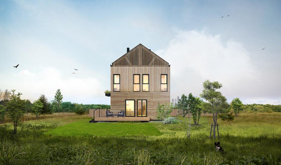 Доступный загородный дом