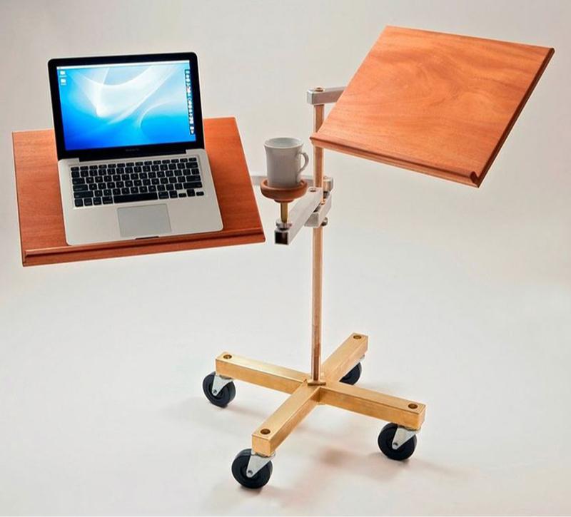 Стол для работы стоя и сидя