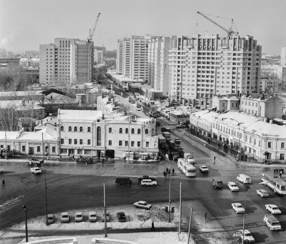 1 февраля 1983г. Новостройки наТаганской улице