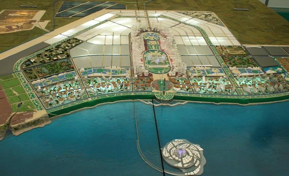 Первоначальный проект игорной зоны «Азов-Сити»