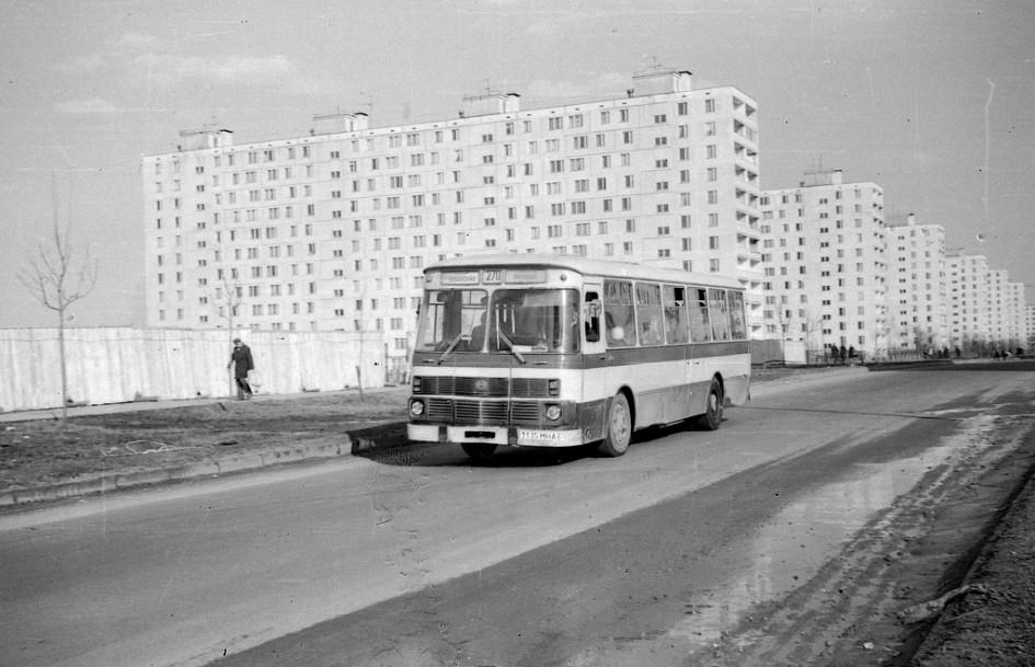 3-й Дорожный проезд.1981 год