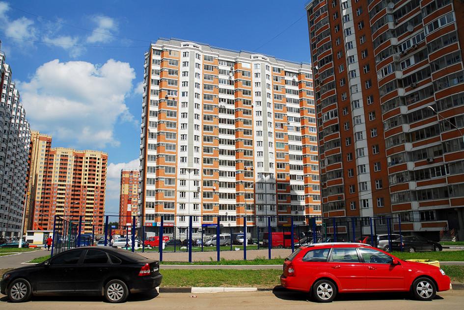 Строительство жилья в подмосковной Балашихе
