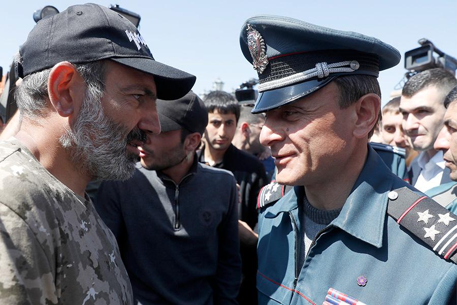 Никол Пашинян и Валерий Осипян