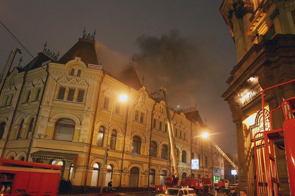 Реставрационные работы в здании закончились  в 2011 г. после пожара 2008 г.