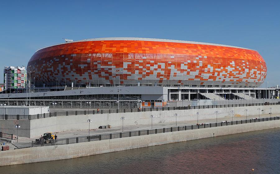 Стадион «Мордовия Арена» в Саранске