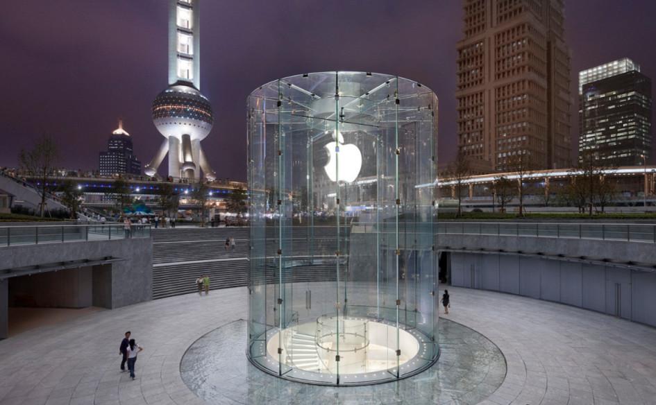 Магазин Apple в Шанхае, Китай