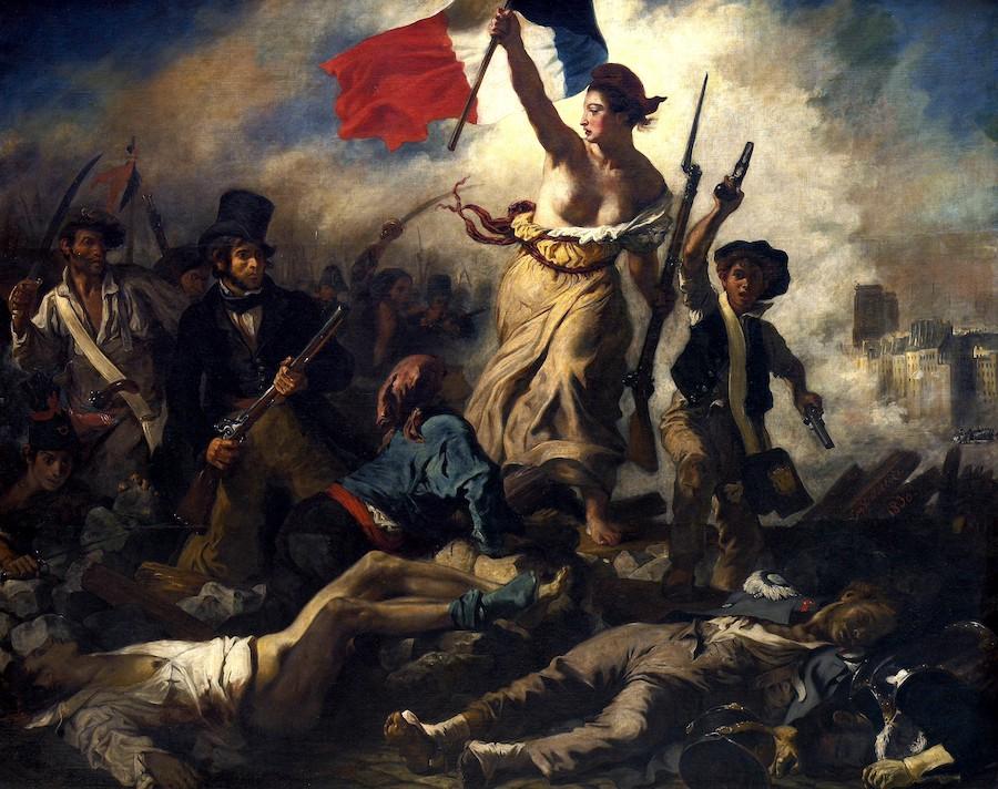 «Свобода, ведущая народ», Эжен Делакруа, 1830 год
