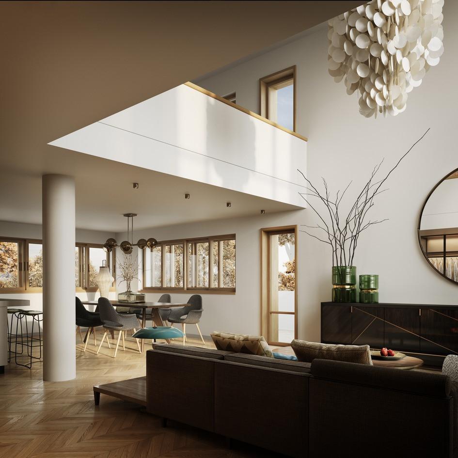 Визуализация интерьера в квартире К18