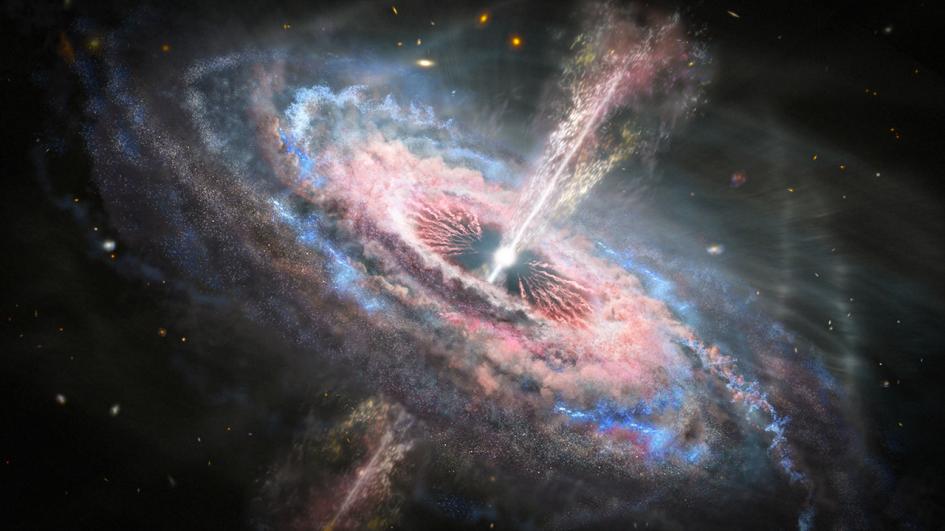 Визуализация квазара