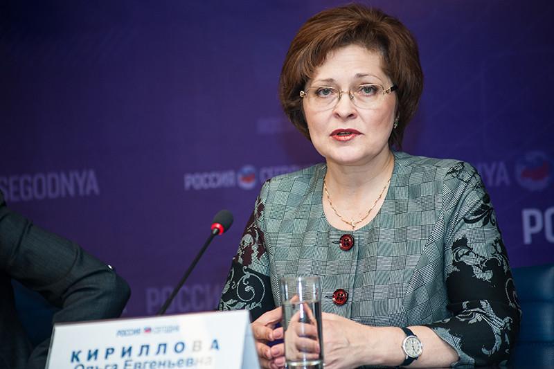 Начальник управления по Москве Федеральной миграционной службы РФ Ольга Кириллова