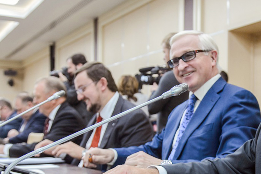 Сергей Катырин, Алексей Репик и Александр Шохин (слева направо)