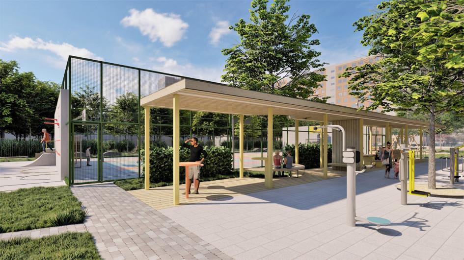 Архитектурное бюро «Практика». Проект «Двор— точка сборки»