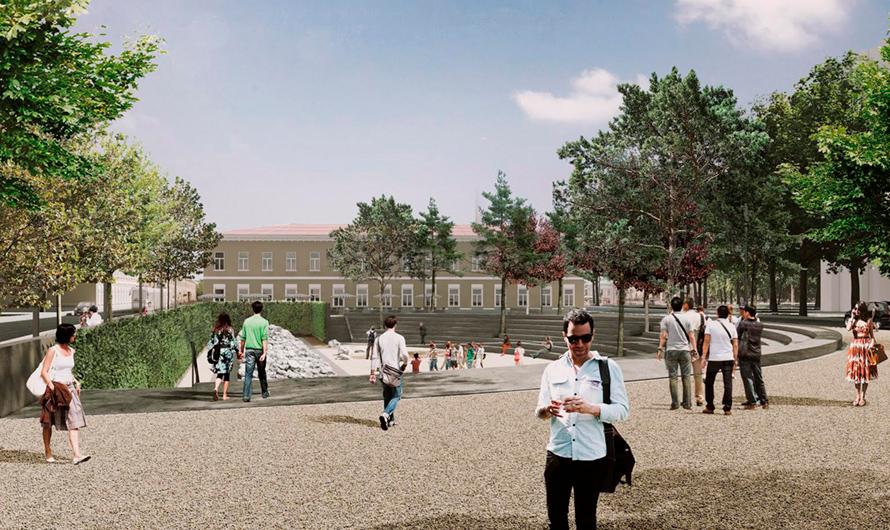 Проектное решение работ поблагоустройству Хохловской площади