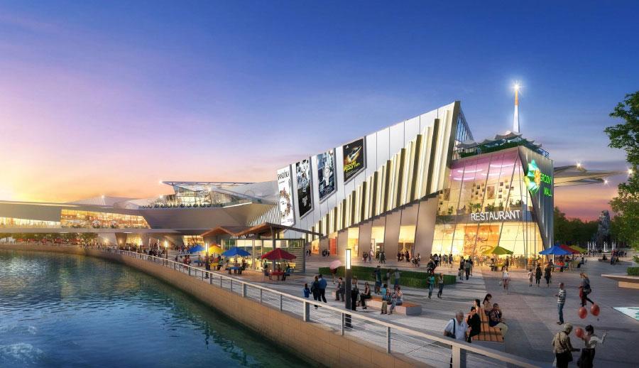 В Грозном построят крупнейший наСеверном Кавказе торговый центр. Общая площадь объекта составит 132тыс.кв. м